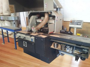 recycled timber machining